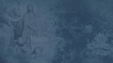 Jesus on Trial (Blue)