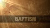 Baptism Still Background