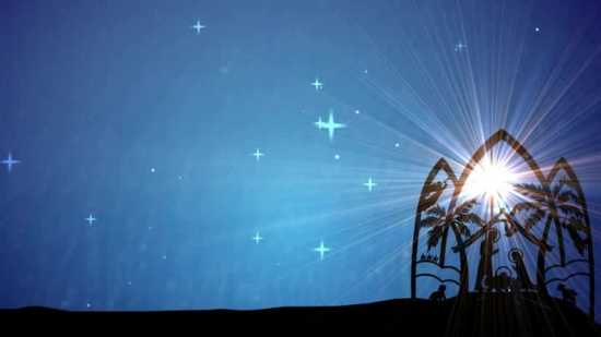 Jesus Birth Christmas Nativity Background
