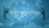 Baby Boy Dedication