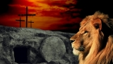 Easter Resurrected Lion