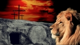 Empty Tomb And Lion