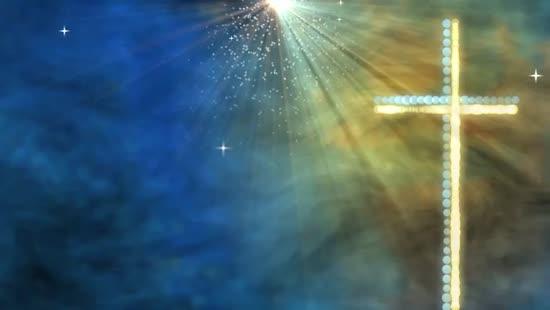Modern Cross Worship Background | Videos2worship | SermonSpice