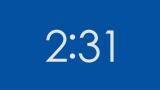 HD 5 Minute Countdown (Chroma Blue)
