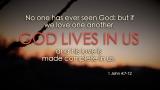 Easter Scripture - 1 John 4:7-12