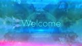 Welcome Loop Blue & Green
