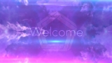 Welcome Loop Pink & Blue