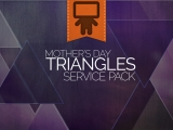Mother's Day Triangles Service Pack
