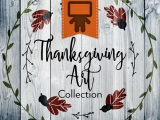 Thanksgiving Art Collection - Spanish