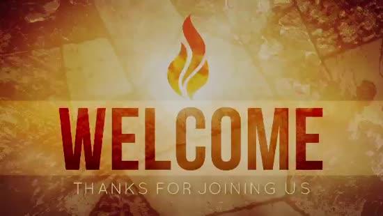 Pentecost Fire Welcome Motion | Playback Media | SermonSpice