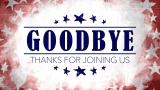 USA Holiday Grunge Closing Still