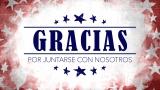 USA Holiday Grunge Closing Still - Spanish