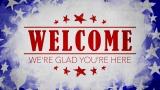 USA Holiday Grunge Welcome Still