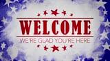 USA Holiday Grunge Welcome Motion