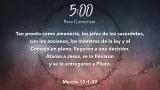Good Friday Thorns Scripture Countdown - Spanish