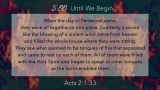 Spirit Of Pentecost Scripture Countdown