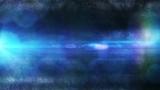 Glowing Bokeh Blue