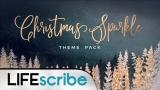 Christmas Sparkle Theme Pack