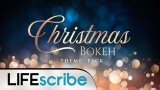 Christmas Bokeh Theme Pack