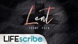 Lent Theme Pack
