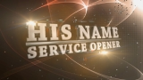 His Name Service Opener