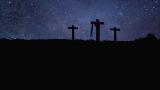 Calvary at Night background loop