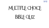 Bible Quiz Countdown
