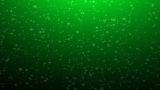 Green Snow Looping Background