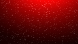 Red Snow Looping Background