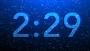 Blue Snow Countdown