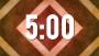 5 Minute Multi Color Diamond Countdown