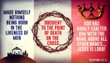 From The Manger To The Cross Philippians 2
