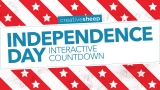 Independence Day Interactive Countdown