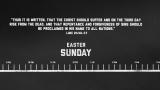 Easter Timeline