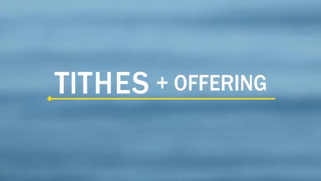 Tithes And Offering Ocean Background Video Music Truth