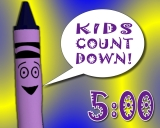 Kids Color Crayons Countdown