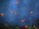Kids Fun Fish Background - HD and SD