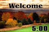 Autumn Thanksgiving Countdown 1