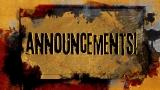 Announcements Splash