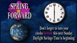 Daylight Saving Time Announcement Loop: Spring Forward