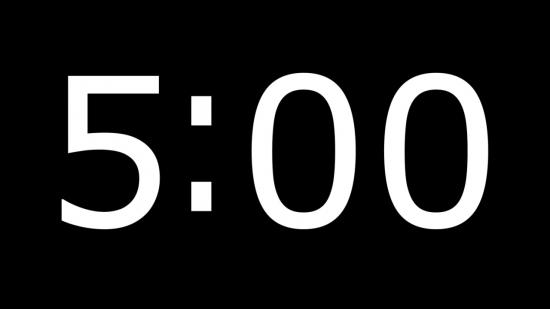 Luma Key Overlay Timer For Countdown 2   Vertical Hold Media