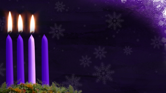 advent candle still image week 3 hd and sd vertical. Black Bedroom Furniture Sets. Home Design Ideas