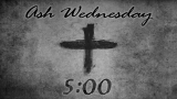 Ash Wednesday Countdown 1