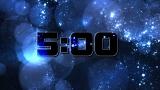 Bokeh Stars Countdown