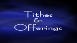 Abstract Swirls Tithes and Offerings Background