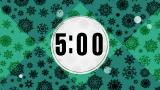 Retro Christmas Snowflake Countdown 2