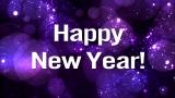 Happy New Year Bokeh Stars Still Image