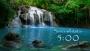 Peaceful Waterfall Countdown