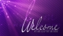 Radiant Rays Violet Welcome